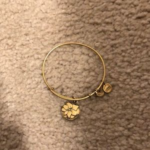 Alex and Ani gold Godmother Bracelet